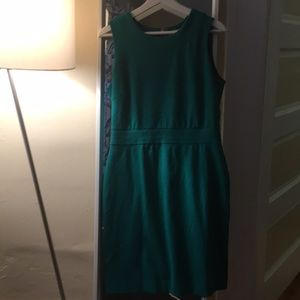 Banana Republic Emerald Green Dress